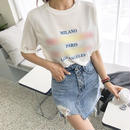 ★ レインボーロゴTシャツ★ladies
