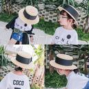 リボン カンカン帽