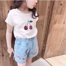 ★スパンコールチェリーTシャツ★