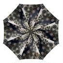 桔梗家紋装飾 傘