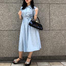 Vintage Polka Dot A-Line Dress