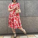 50's Vintage Floral  Dress