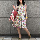 Vintage Novelty Print Dress