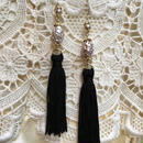 Vintage Pearl with Black Tassel by freaque