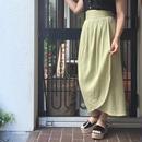Vintage Linen Lap Long Skirt