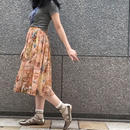 Vintage Chiffon Gather Skirt