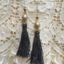 Vintage Pearl with Silver Tassel by freaque