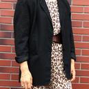 Vintage Linen Black Jacket