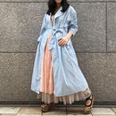 70's Vintage Gingham Check Cotton Long Gown