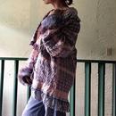 Vintage Native American Rug Fringe Gown