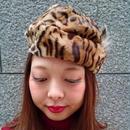 Vintage Leopard Hat