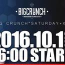 """『前売りチケット』10/1(SAT)BIG CRUNCH""""SATURDAY+XX""""*注)チケットの発行はありません。購入前に注意事項をご確認下さい。"""