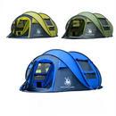 【送料無料!】HUI LINGYANGテント 防風・防水 投げるだけで簡単設置 3~4人用【新品】