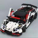 LEPIN レゴ互換 ランボルギーニ アヴェンタドール スーパーカー