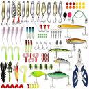 【送料無料!】釣りルアー タックル Lixada 設定 106pcs 釣り餌タックル ボックス【新品】