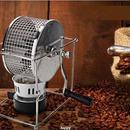 コーヒーロースター 焙煎機 手動 直火 コーヒー豆 煎る 自家焙煎 ハンドメイド 生豆 アルコールランプ