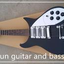 【送料無料!】リッケンバッカー タイプ エレキギター 初心者 扱いやすい rickenbacker グローバルカスタムギター 専用ハードケース付き【新品】