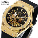 メンズ腕時計 海外トップブランド 高級腕時計 自動 高級ブランド 機械式 スケルトン 文字盤は3色から♪