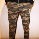camouflageパンツ カラー:ブラック  品番:0040