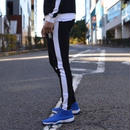 【スニーカープレゼント対象商品】サイドラインパンツ カラー:ブラック×ホワイト  品番:0045