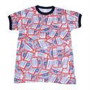 Budweiser(バドワイザー) 総柄Tシャツ2