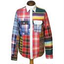 DENIM&SUPPLY Ralph Lauren(デニムアンドサプライ) パッチワークシャツ  2