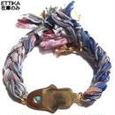 Ettika アメリカのカワイイブレスレット やわらかいリボンのブレスレットとハムサのチャームがおしゃれなセンスなアクセサリー