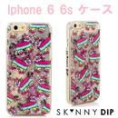 skinnydip スキニーディップ ロンドン の 流れる IPHONE 6 6S GLITTER PINATA CASE アイフォン シックス エス ケース 保護フィルム セット 海外 ブランド