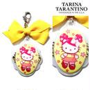 TARINA TARANTINO タリナタランティーノ アメリカ の キティ バッグチャーム NEW PINK HEAD HERITAGE XL BAG CANDY イエロー ハローキティ 海外