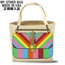 My Other Bag マイアザーバッグ トートバッグ キャンバス ROXY RAINBOW 正規品