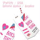 Valfre ヴァルフェー アメリカ の 立体 ストロー パック BOYS TEARS 3D IPHONE 6plus / 6splusCASE アイフォン シックス プラス ケース シリコン 海外