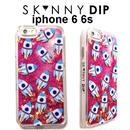 skinnydip スキニーディップ ロンドン 流れる 星空 ロケット Pink liquid rocket glitter iphone 6 6s case ピンク アイフォン シックス ケース