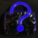 Vintage enamel question design bag/エナメルクエスチョンデザインバッグ