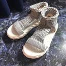 Sports Knit Sandal (silver)