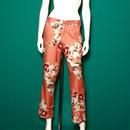 【migration】Flower pants / mg-123 / 花柄パンツ
