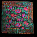 Flower leaf patten scarf / 花と葉デザインスカーフ