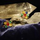 Antique Floral Bijou Earring / アンティークビジューイアリング