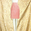 1980's Vintage【DANIER】 Suede Pink Skirt