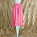 1980's Vintage 【Rouie】Satin Pinkskirt