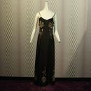 1940's Rose Rare Long Dress