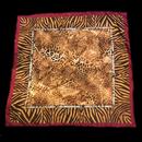 Animal pattern scarf / アニマル柄スカーフ