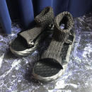 Sports Knit Sandal (black)