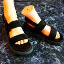 Strap Sandal / black