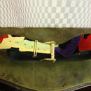 Vintage Suede Mulch Color Belt