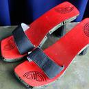 Vintage Oriental Heel Sandal