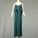 1980's Vintage Stripe Onepiece