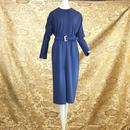 1960's Vintage 【Aimee PETITE】Navy Onepiece
