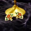 Vintage Oriental Fan Pierce