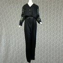 1980's Vintage【Dawa Joy Fashions】 Seethrough Orverall