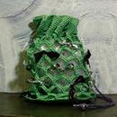 【TICA】Green Tape Ribbon Bag